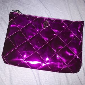 Juicy Couture Hot Pink Cosmetic Bag